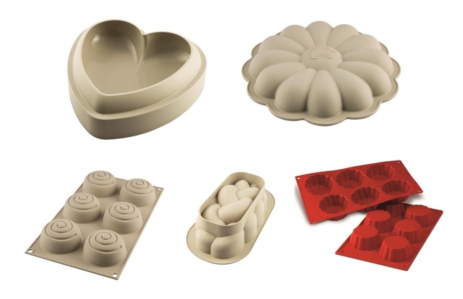 Forme pentru prajituri 3D
