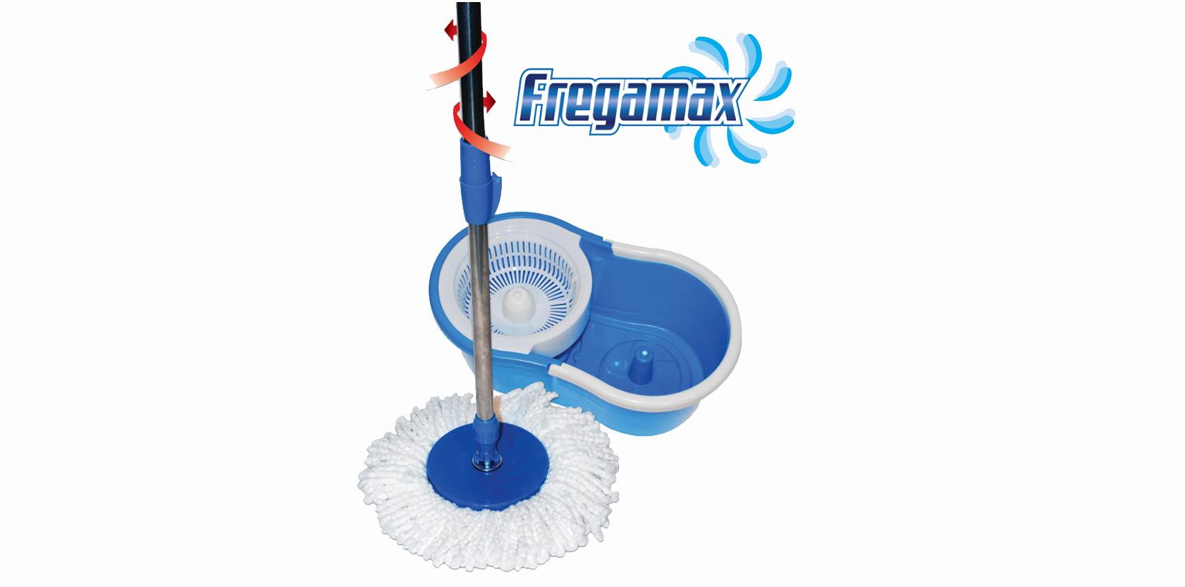 Mop cu sistem de centrifugare Fregamax