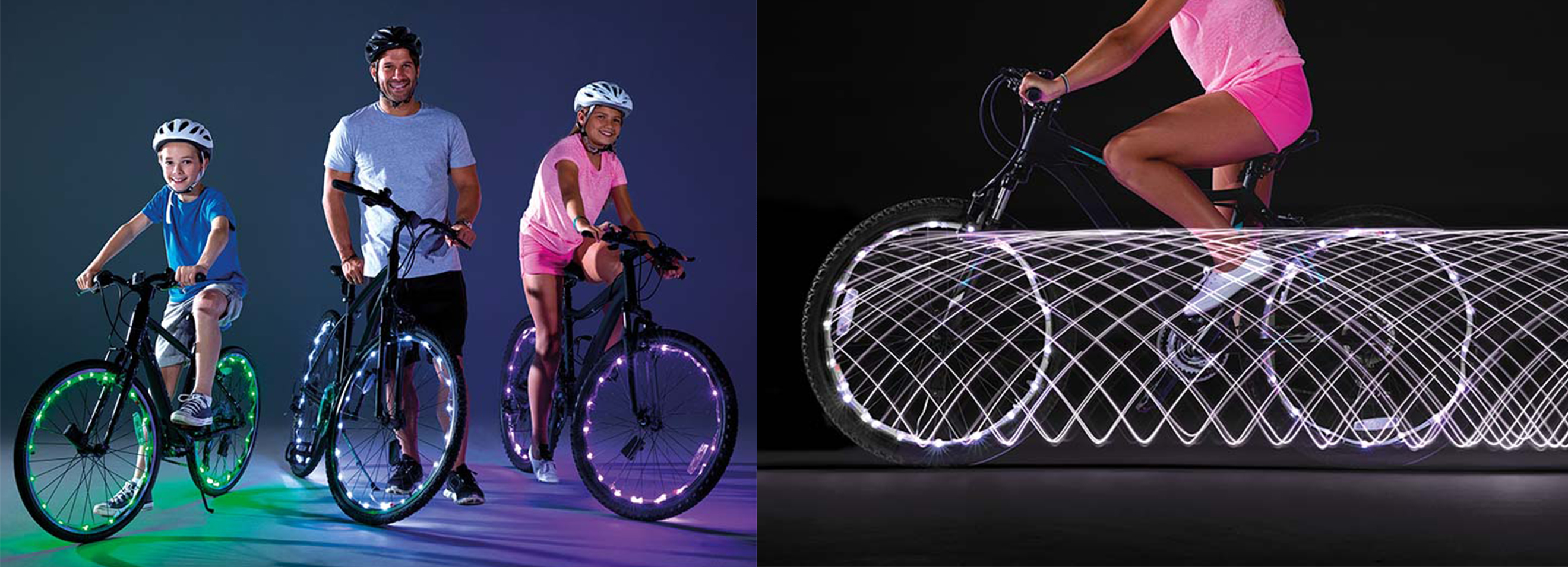 Lumini LED pentru bicicleta